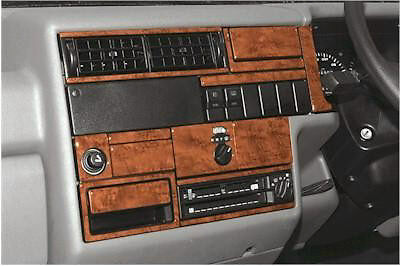 Volkswagen T4 Transporter 1990 - 1996  Walnut Dash Trim Kit