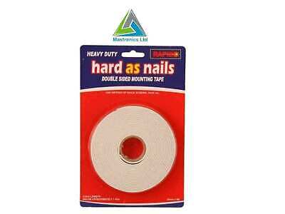 Rapide Heavy Duty Sticks Like Nails Double Sided Strong Mounting Tape 24mm x 5m