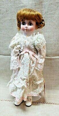 """Vintage 16"""" Porcelain """"Joan"""" Doll with Stand Artisan Collection #5805"""