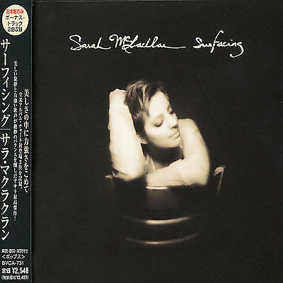 Surfacing by Sarah McLachlan (CD, Arista/Nettwerk)