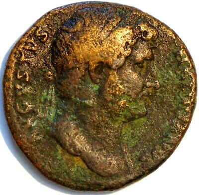Ancient Roman coin undetified (E*75)