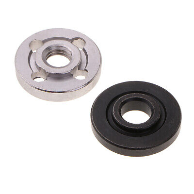 M10 Thread Replacement Angle Grinder Inner Outer Flange Nut Set Tools, Pack of 2