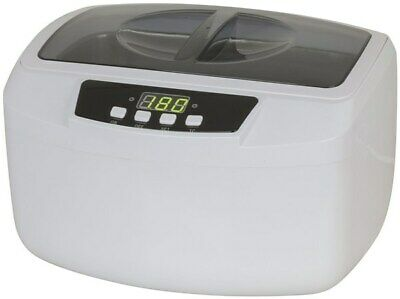 180W Ultrasonic Cleaner with Heater 2.5litre 304-grade stainless steel bowl
