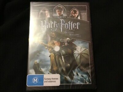 HARRY POTTER AND THE DEADLY HALLOWS :Part 1 (DVD 2012)BRAND NEW~DANIEL RADCLIFFE