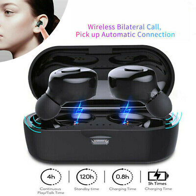 Mini Wireless Auricolare 5.0 Cuffie Stereo HIFI Headset Auricolari