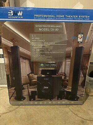 *Brand New* BNW Acoustics SX-90 Home Theater System