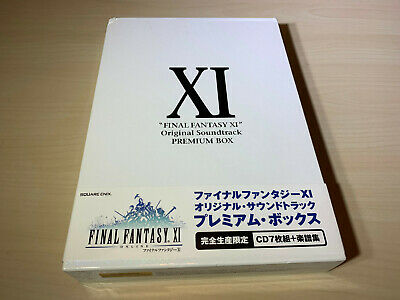 Final Fantasy XI Original Soundtrack Premium Box Limited Edition from Japan Used