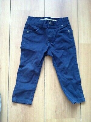 Boys Primark Blue Slim Jeans/Trousers Age 1.5/2 Years