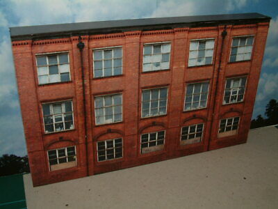 Low Relief  1930's style  Factory  /  Office block   Self Assembly Card Kit .