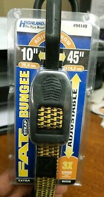 Highland Fat Strap Extra Wide #94149 Adjustable Bungee