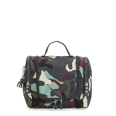 Kipling Connie Hanging Toiletry Bag Camo L