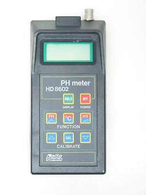 DeltaOhm pH Meter HD8602 HD 8602