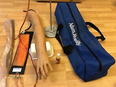 Educate Infusion Injection Adam Rouilly Train Arm manikin Teach Nurse Simulate