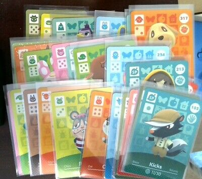 Animal crossing Amiibo Cards - Series 4 - Pick your Villager - US version