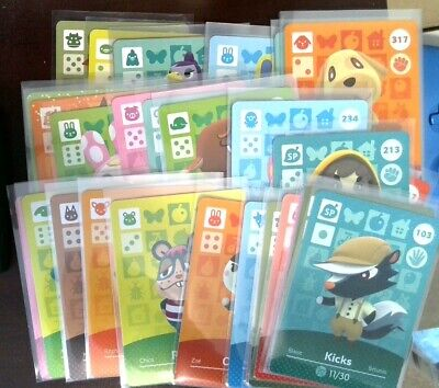 Animal crossing Amiibo Cards - Series 2 - Pick your Villager - US version
