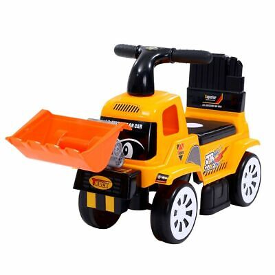 Kids Ride On Car Toys Truck Bulldozer Digger Toddler Toy Foot to Floor Keezi