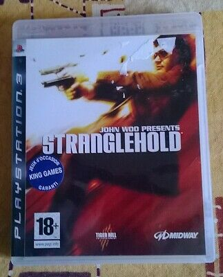 Jeu video pour playstation 3 - John Wood - STRANGLEHOLD + notice