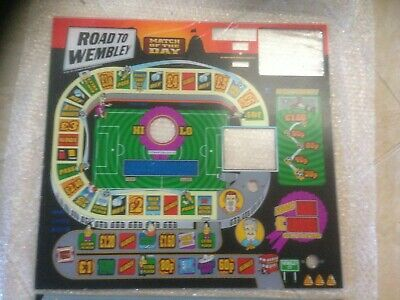 Bell Fruit Machine Road To Wembly Glass/Perspex