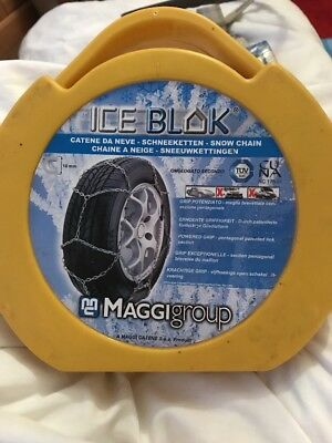 Iceblok Snow Chains Travel Road Car Fit  Tyre Tyres 195//70-13 205//40-17 /& More