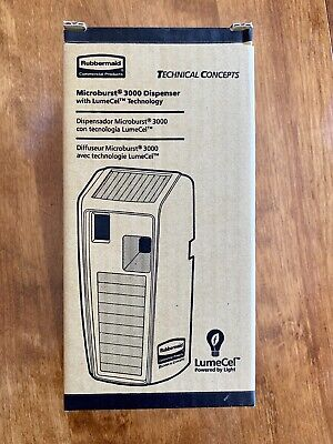Rubbermaid Commercial Products 1955228 Microburst 3000 CST Dispenser with LumeCe