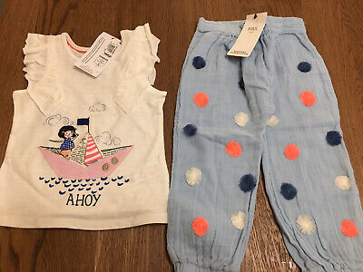 BNWT Girl Summer Outfit 2-3 Years M&S 🌸
