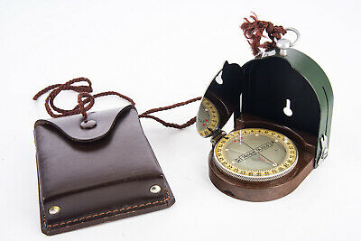 Hungarian Irany 39/49 M Marching Compass in Original Leather Case V11