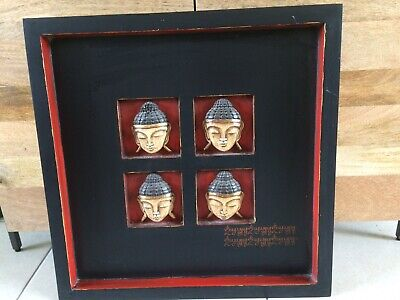 Wooden Buddha Picture
