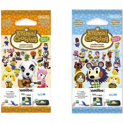 Animal Crossing amiibo Cards pack (Series 2,3,4). Brand new. Original