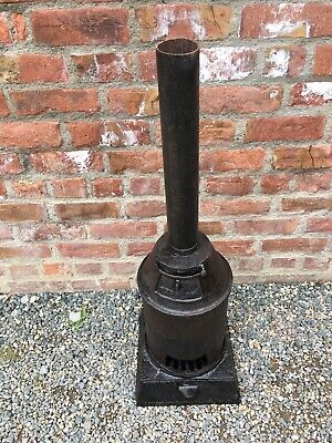 Antique Cast Iron Stove Shepherds Hut Railway Carriage