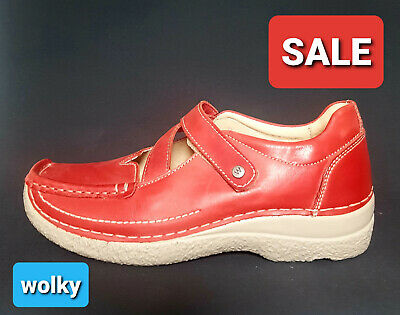 WOLKY DAMEN SCHNUERSCHUHE Seamy Fly Red summer Mistique