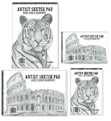 A4 A5 Wirebound Sketchpad 180gsm Drawing Paper School Art Supplies