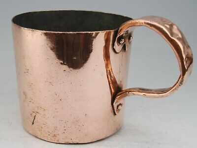 Antique Victorian Copper Royal Navy Grog Rum ½ Gallon Measure Jug Broad Arrow