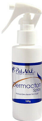 Petnat Dermacton Spray for Dogs Itching & Scratching Natural Relief Antibacteria