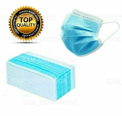 25 PCS Face Mask Medical Surgical Dental Disposable 3-Ply Earloop Mouth Cover