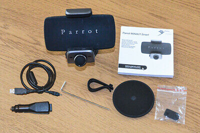 Parrot MINIKIT Smart Bluetooth hands-free charging car holder for Mobile phones