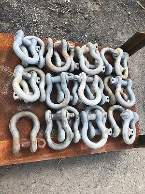 """25 Ton, 1.75"""" Industrial rigging shackle (price per individual) (foreign)"""