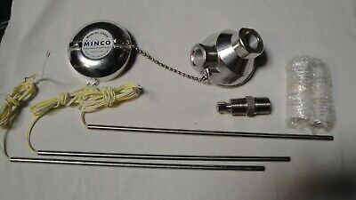 Minco RTD Head, Probes and Fluid Seal Fittings, Free Shipping!