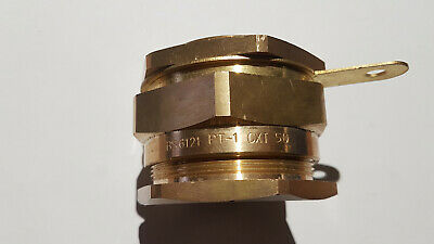 PT-1 CXT 50 Electrical Brass SY Cable Gland BS6121