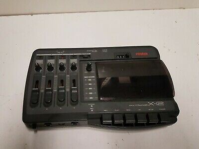 Fostex X 12 Multitrack Tape Recorder