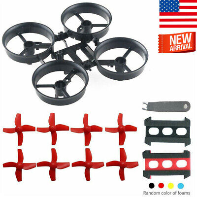 Tiny 65mm Frame Kits Yellow with Props Removal Tool for Tiny Whoop Micro FPV Quadcopter Mini Drone Crazepony