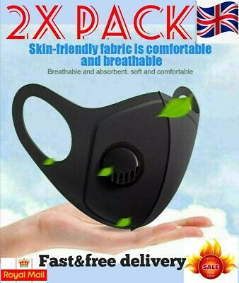 Face Mask Filter Respiratory Mouth Protection Washable Masks. PM2.5