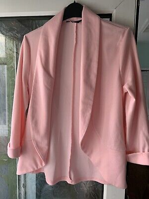 Girls New Look 915 Generation Pink Blazer / Jacket  size 14-15