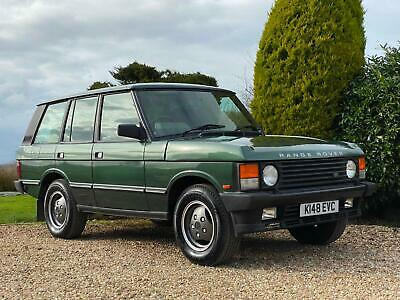 1992 Range Rover Vogue Classic 3.9 EFI Automatic. Only 73,000 Miles From New.