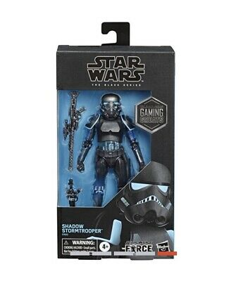 Star Wars The Black Series Shadow StormTrooper Gaming Action Figure Preorder