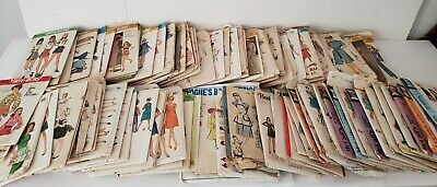 97 Vintage Simplicity,Butterick,McCall,Vogue,Hollywood 1960's Dress Patterns