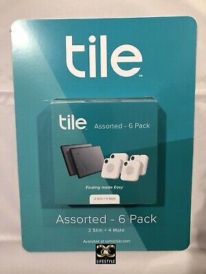 ✨Tile Assorted 6-Pack 2 Slim + 4 Mate Brand New Factory Sealed✨