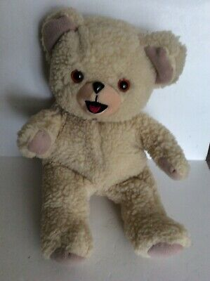 Vintage 1996 Plush SNUGGLE BEAR Hand Puppet Lever Brothers Stuffed Animal 14""