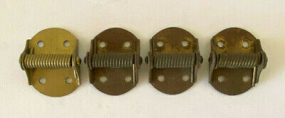 Lot of 4 Small Antique Spring Hinges