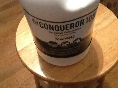 Fresh Products Bio Conqueror 105 Enzymatic Concentrate, Mango, 1gal, Bottle, 4/c