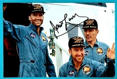 NASA Signed Space Photo JAMES LOVELL Apollo 13 Autographed Glossy Photo